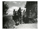Dedication of Mount Rainier National Park Horse Trail, July 9, 1931 Giclee Print by Ashael Curtis