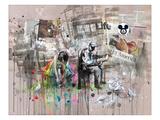 La vie, en anglais Affiches par Lora Zombie