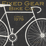Fixed Gear Bike Co. Art by Michael Mullan
