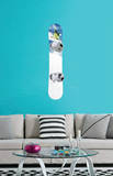 Snowboarder Jumping Wall Decal Sticker Wall Decal