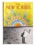 The New Yorker Cover - March 18, 1974 Regular Giclee Print by Ronald Searle