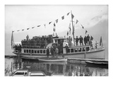 S.S. the Betty Earles, Lake Crescent, 1916 Giclee Print