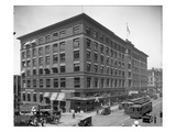 Colman Building, Seattle, 1916 Giclee Print by Ashael Curtis