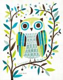 Michael Mullan - Night Owl II Obrazy