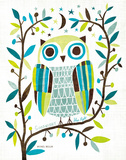 Night Owl II Prints by Michael Mullan