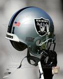 Oakland Raiders Helmet Spotlight Photographie