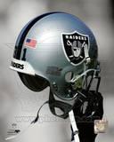 Oakland Raiders Helmet Spotlight Photo