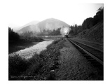 Northern Pacific Railway No. 42 on Eagle Line, Green River, King County (July 1915) Giclee Print by Ashael Curtis