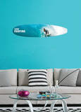 Gone Surfing Wall Decal Sticker Wall Decal