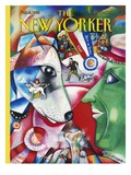 The New Yorker Cover - February 8, 1993 Regular Giclee Print by Bob Knox