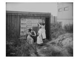 Poster Brigade: Three Women Suffragists in Seattle, WA, 1910 Giclee Print by Ashael Curtis