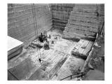 Tenino Sandstone Quarry, 1909 Lámina giclée por Ashael Curtis