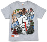 Youth: Lego Star Wars - Bringing Backup T-shirts