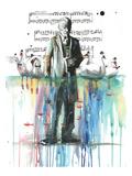 Svanesøen Plakater af Lora Zombie