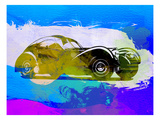 Bugatti Atlantic Watercolor 2 Prints by  NaxArt