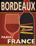Bordeaux Posters by Pela Studio
