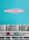 Surfer Girl Wall Decal Sticker Wall Decal
