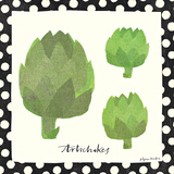 Simple Artichokes Affiche par Susy Pilgrim Waters