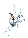 Lora Zombie - Billy Umělecké plakáty