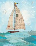 Coastal Notes I Prints by Courtney Prahl