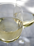 Two Glasses of White Wine Prints by Katano Nicole