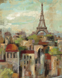Spring in Paris II Prints by Silvia Vassileva