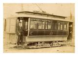 Tacoma Railway and Motor Company Street Car, North K Street Line (ca. 1899) Reproduction procédé giclée par E.L. Gurnea