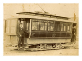 Tacoma Railway and Motor Company Street Car, North K Street Line (ca. 1899) Giclee Print by E.L. Gurnea