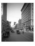Riverside Avenue, Spokane, 1916 Giclee Print