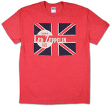 Led Zeppelin - Evening of Led Zep 1975 Tshirt