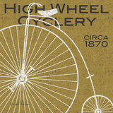 High Wheel Cyclery Posters by Michael Mullan