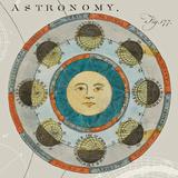 Lunar Calendar Affiche par Sue Schlabach