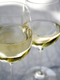 Two Glasses of White Wine Posters by Katano Nicole