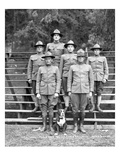 Veterinary Field Unit, 346th Field Artillery, Camp Lewis, 1918 Giclee Print by Marvin Boland