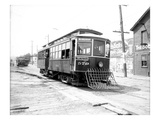 Streetcar, Seattle Electric Company, Seattle (June 1909) Giclee Print by Ashael Curtis