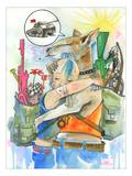 Tank Girl Posters par Lora Zombie