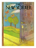 The New Yorker Cover - September 27, 1976 Premium Giclee Print by Eug&#232;ne Mihaesco