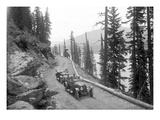 Sunset Highway, Snoqualmie Pass, 1916 Reproduction procédé giclée par Ashael Curtis