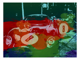 Ferrari Laguna Seca Racing Prints by  NaxArt