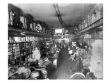 Augustine Kyer Grocery Store Interior, Seattle, 1909 Giclee Print by Ashael Curtis