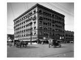 Miller Building, North Yakima, WA, 1915 Reproduction procédé giclée par Ashael Curtis
