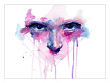 My Right My Faith Premium Giclee Print by Agnes Cecile