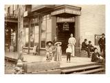 Pioneer Pharmacy, Edison, WA, 1892-93 Giclee Print