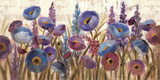 Lupines and Poppies Posters af Silvia Vassileva
