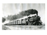 Northern Pacific Freight Train, Attalia, WA, 1953 Giclee Print by Jim Frederickson