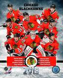 Chicago Blackhawks 2012-13 Team Composite Photographie