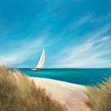 Sunday Sail Print by Julia Purinton