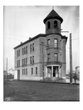 Ballard City Hall, Ballard, WA (January 9, 1902) Giclee Print by Ashael Curtis
