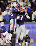 Tom Brady & Rob Gronkowski 2012 Action Photo