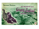 Kennewick Grape Festival (October 3 and 5, 1946) Giclee Print